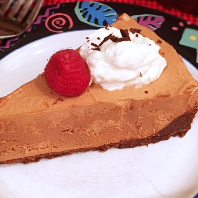 Silk & Satin Chocolate Pie