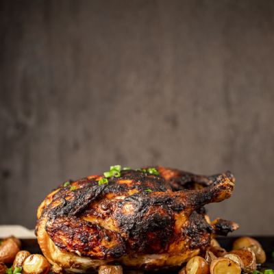 Whole Roasted Indian Chicken