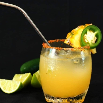 Pineapple Jalapeño Margarita