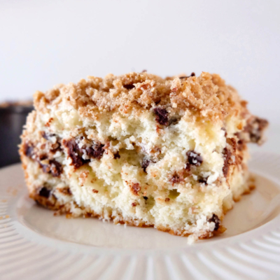 Chocolate Chip Crumb Coffee Cake