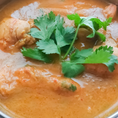5 Ingredient Easy Chicken Curry