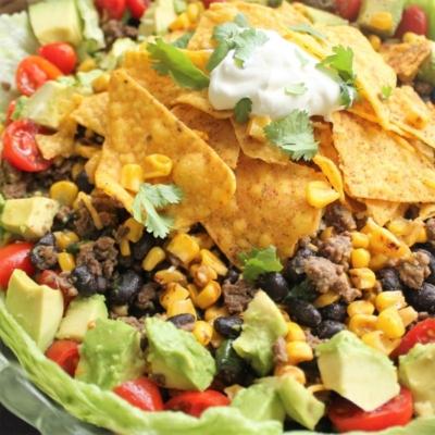 Chrissy Teigen's Cool Ranch Taco Salad