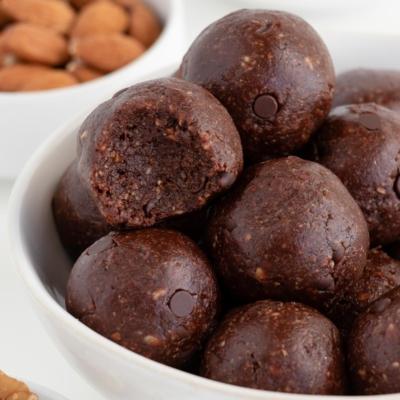 No Bake Brownie Bites (Vegan & Gluten-Free)