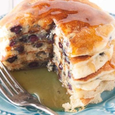 Wild Blueberry Buttermilk Pancakes