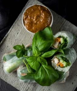 Vietnamese Chicken Summer Rolls