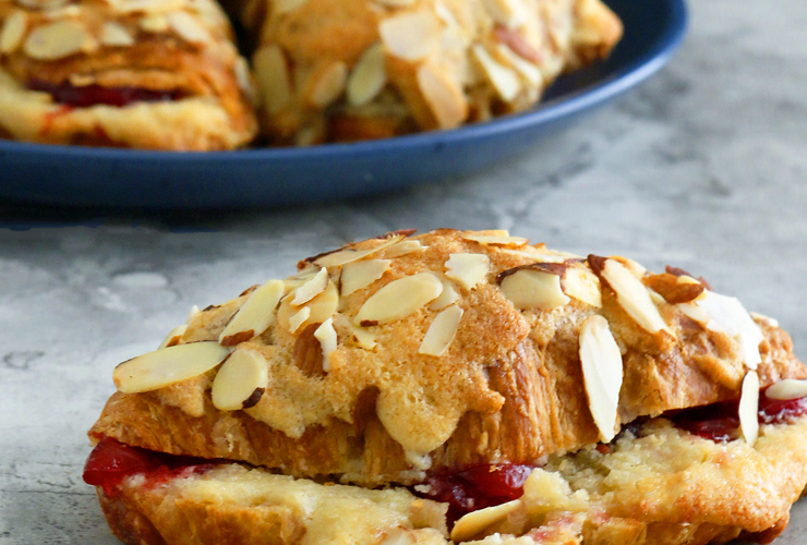 Cranberry Almond Croissants