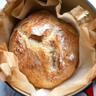 Foolproof Artisan No Knead Bread
