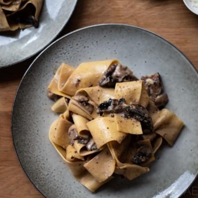 Mushroom and Taleggio Sauce