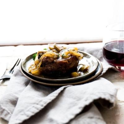 Beef Roast in Pinot Noir Sauce