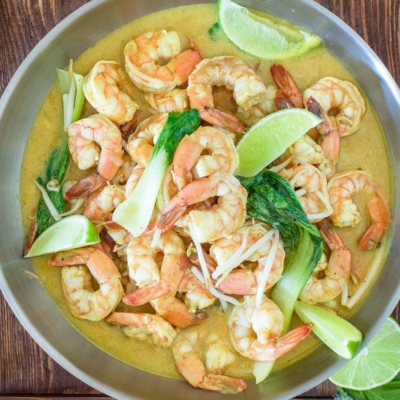 Creamy Citrus Shrimp Soup