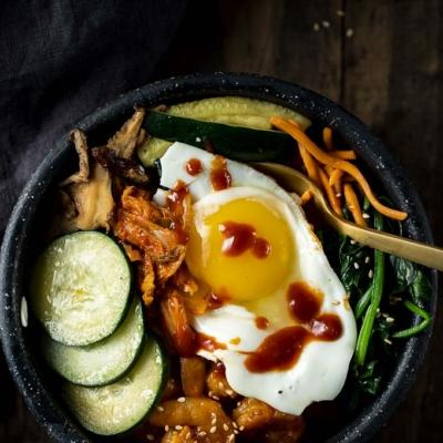 Korean Bibimbap Bowls