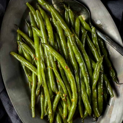 Spicy Braised Green Beans