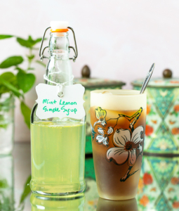 Mint Lemon Simple Syrup