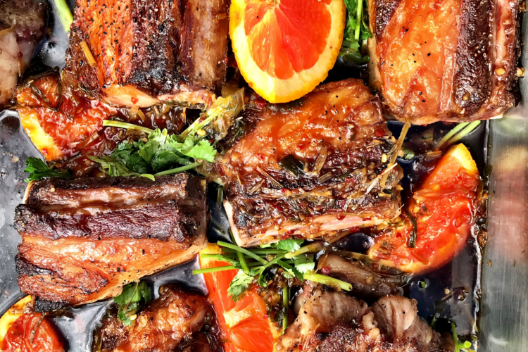 Asian Style Braised Wagyu Beef Short Ribs