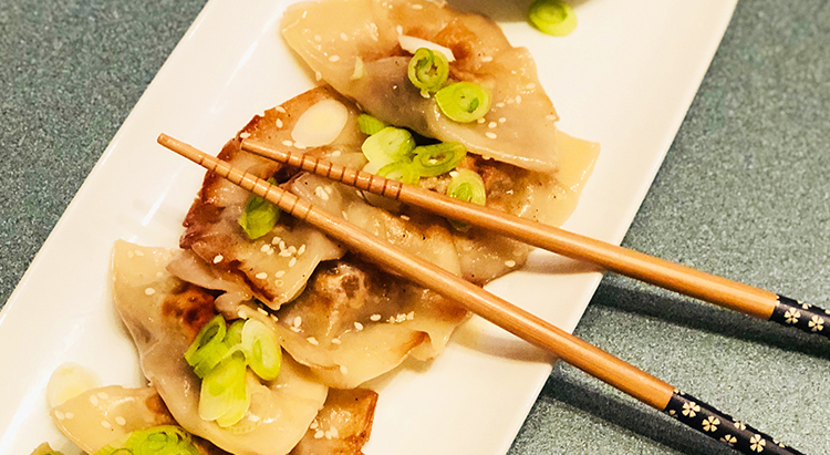 Chinese Potstickers with Wagyu Beef