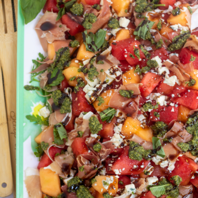 Summer Melon Salad with Prosciutto