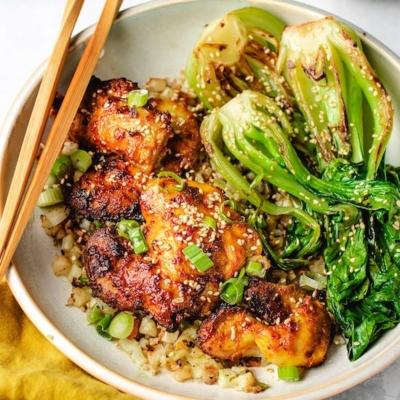 Thai Chicken Satay (Air Fryer, Stovetop)