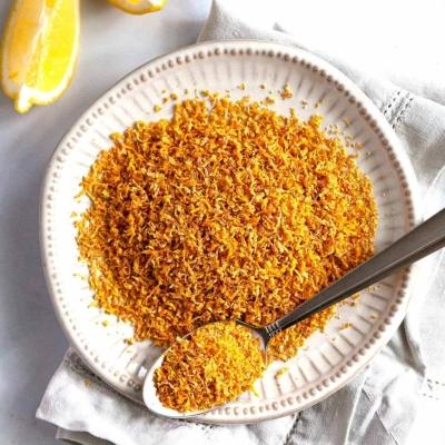 How to Make Dried Lemon Peel