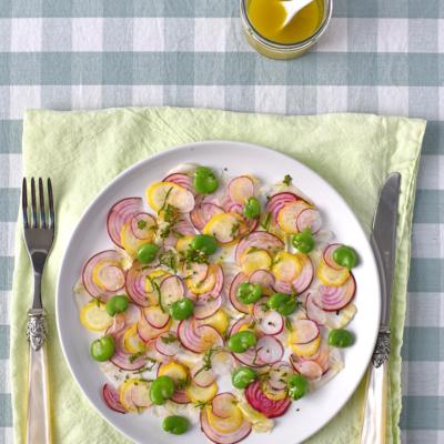 Carpaccio of Summer Vegetables