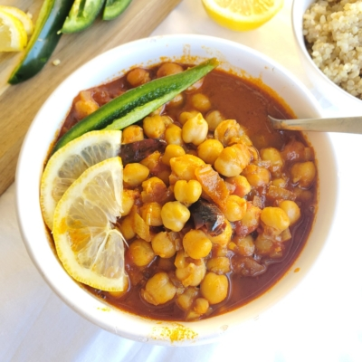 Authentic Indian Chana Masala