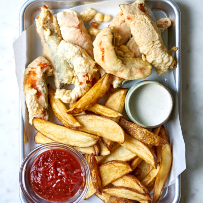 Salmon Fish & Chips