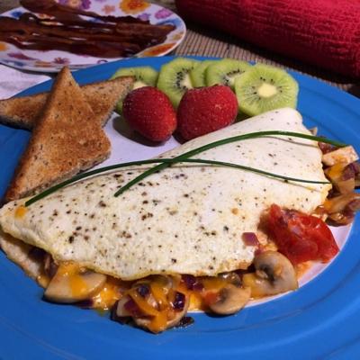 White Omelet