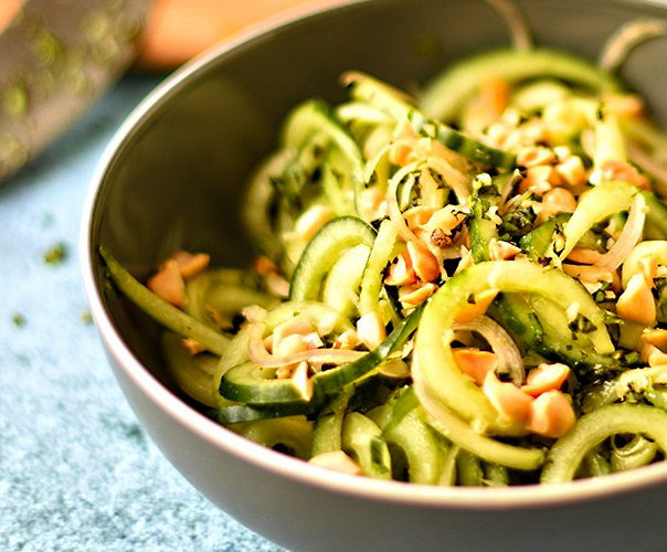 Thai-Style Cucumber Salad