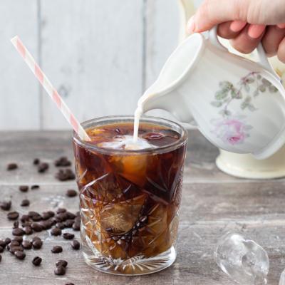 Easy Vanilla Iced Coffee