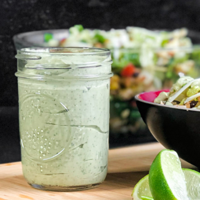 Avocado Crema with Lime and Cilantro