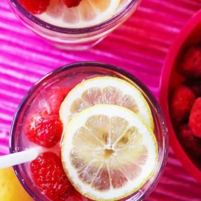 Best Ever Raspberry Lemonade