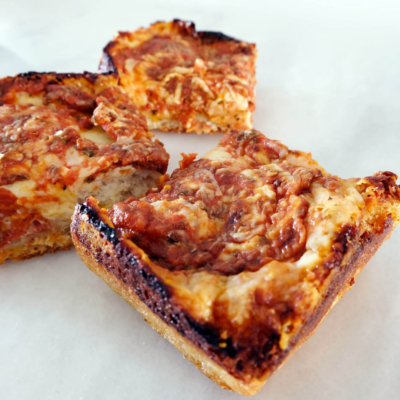 Easy Detroit-Style Pizza