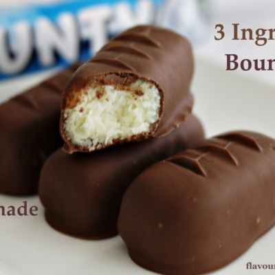 Easy No-Bake Coconut Bounty Bars