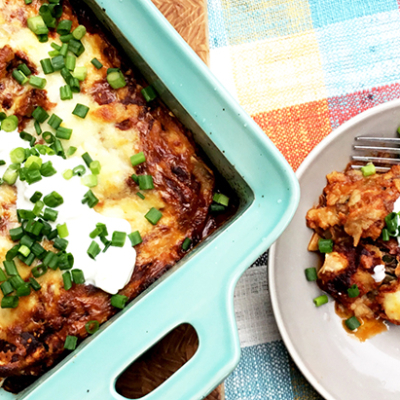 Wagyu Beef & Poblano Pepper Enchiladas