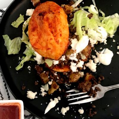 Pambazo Mexicano Wagyu Chorizo Potato Sandwich