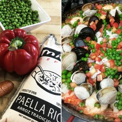 Paella with Fullblood Wagyu Beef Chorizo