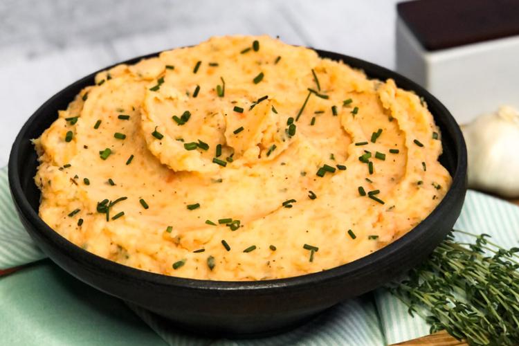Savory Mashed Sweet Potato Blend