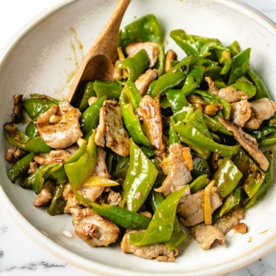 Sweet Ginger Pork Stir-Fry