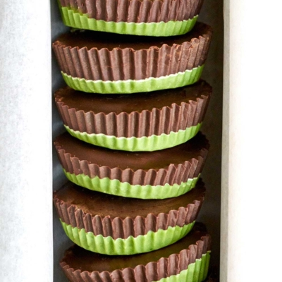 Chocolate Matcha Peanut Butter Cups