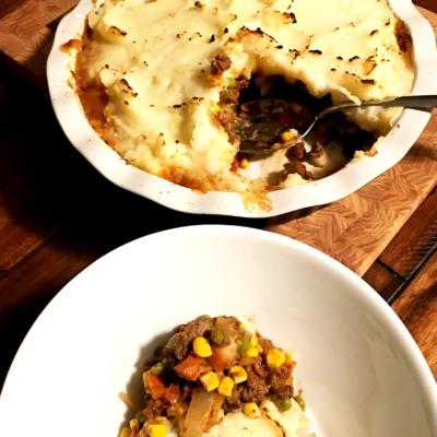 Shepherd's Pie with Wagyu Coarse Ground Beef