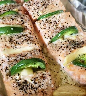 Garlic Salmon   Keto-Friendly and Gluten-Free