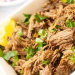 Homemade Beef Barbacoa