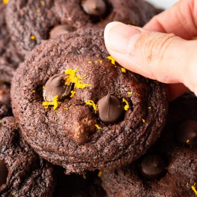 Orange Chocolate Cookies
