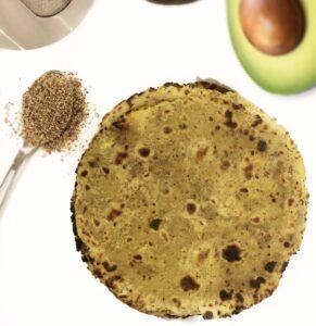 Avocado Indian Roti
