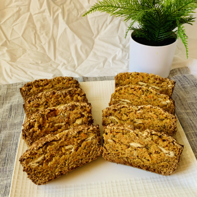 Sweet Potato and Carrot Bread