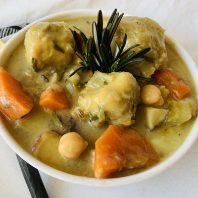 Chickpea and Dumplings