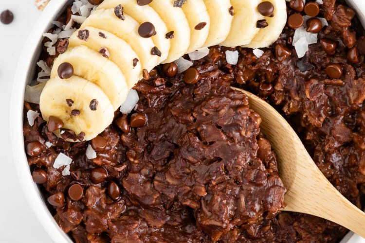 Chocolate Oatmeal (Vegan & Gluten-Free)