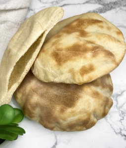 Easy Homemade Greek Pita Pocket Bread