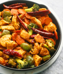 Spicy Hunan Chicken