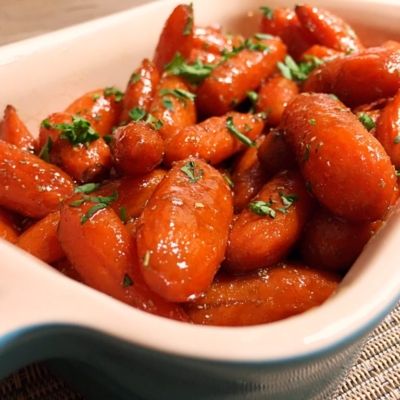 Grand Marnier Glazed Carrots