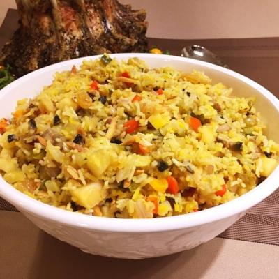 Saffron Rice Stuffing